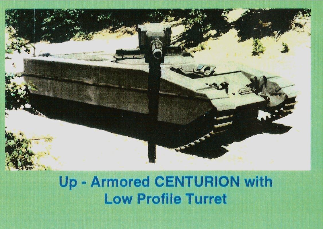 Centurion 105mm gun TD