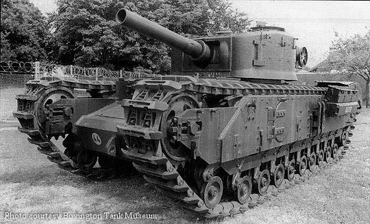 Churchill 165mm gun