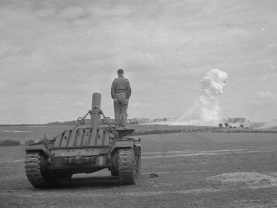 Valentine 9,75 Flame Mortar